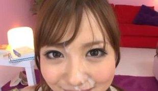 hardcore sædsprut facial asiatisk japansk