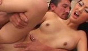 Fabulous pornstar Evelyn Lin in superlatively good cumshots, cunnilingus adult video