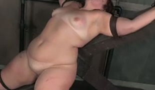 This BBW wench is into kinky stuff and she loves getting her cum-hole toyed