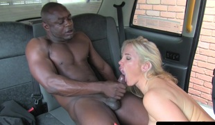 squirting lady taxi driver pumped by bbc