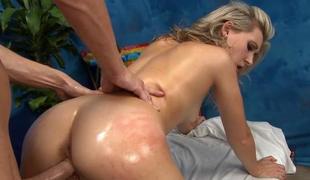 hardcore massasje puling olje trengende