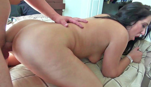 A dark brown gets her ass fucked in this fine episode