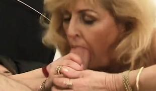anal blonde hardcore blowjob strømper