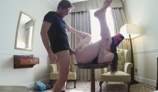 rumpehull anal deepthroat ass-til-munn gagging
