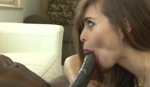 Wesley Pipes gets his always hard snake sucked by Riley Reid