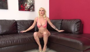 Toying live on her livecam makes Stevie cum even harder