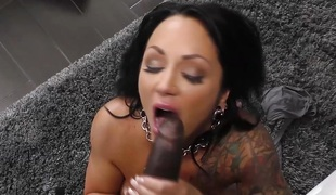 Ashton Blake takes BBC Anal In Front Of Her Son