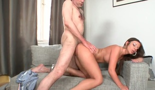 Diether Von Stein gets her bottom trained