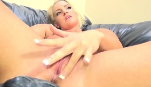 Foxy blond Cali Carter gets her freak on with fantastic cock action