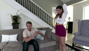 Bootygirl girl Brooklyn Pursue boned brutally in a doggy position