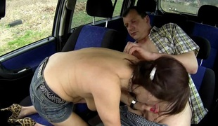 tsjekkisk husmor bil hd boring