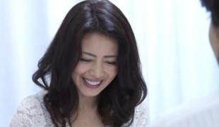 asiatisk japansk moden blowjob sædsprut