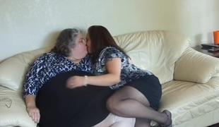 moden bbw lesbisk rett hd