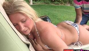 store pupper tenåring blonde milf massasje