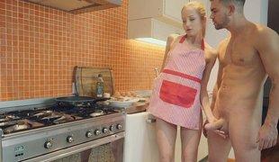 tenåring babe blonde sjarmerende tynn