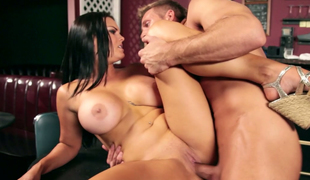 Brunette bitch Mackenzee Pierce receives banged really hard
