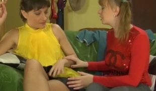 Linda and Dorothy lesbian mature movie