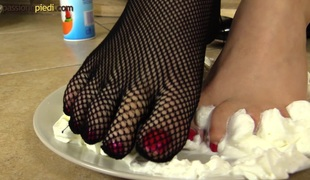 fetish fishnet hd nærhet foot fetish