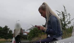 amatør blonde hardcore blowjob offentlig