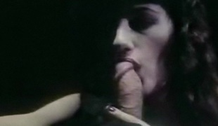 NOBODY KNOWS - vintage sensual blowjob erotic brunette hair