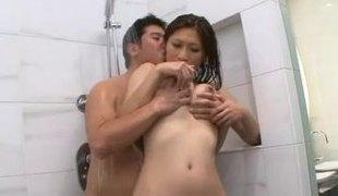 naturlige pupper hardcore dusj asiatisk par