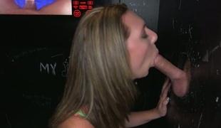 Concupiscent honey is thrilled to have stud's phallus in her mouth