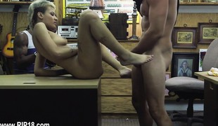 Real dilettante girls fucked by sleek stud