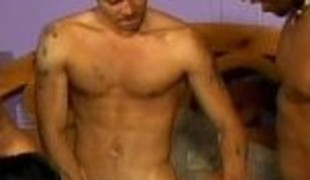 Amazing pornstar C.J. Bennett in horny gangbang, interracial xxx clip