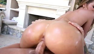 Big wazoo Abby Cross is at her hottest fucking outdoors