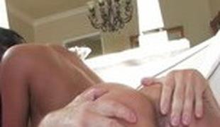 Exotic pornstar Priya Rai in incredible cunnilingus, big tits porn video