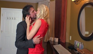 pornostjerne milf store pupper ass kyssing