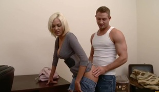 anal blonde store pupper blowjob stor kuk