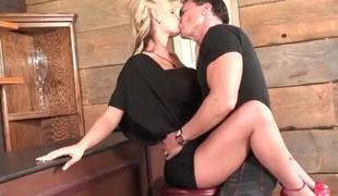 anal blonde milf store pupper blowjob
