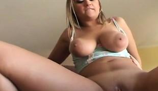 blonde hardcore store pupper blowjob lingerie