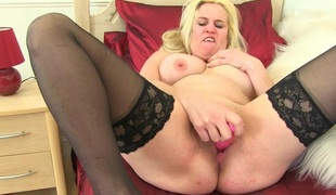 British milfs Lulu Lush and Tori Baynes need getting off