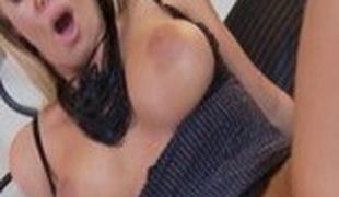 Hottest pornstar Nicole Aniston in amazing creampie, cumshots sex scene