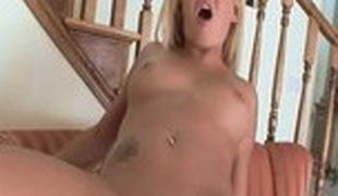 blonde sædsprut facial stor kuk