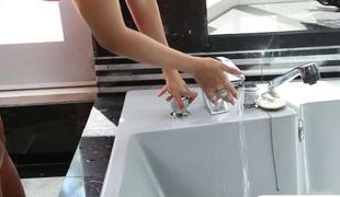 Busty porn star bath sex video bomb by the cameraman