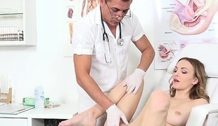 Patient Belle Claire Gets Her Pussy Taken Care Of
