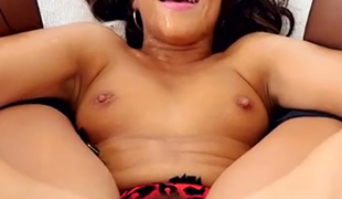 Black haired sexy slut Adriana Chechik gets her anal opening filled with cum after hard penetration