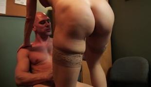 blonde store pupper pornostjerne blowjob lingerie