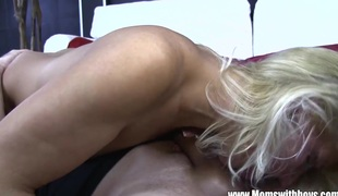###l Boy Fucks Mature Golden-haired Babe After Getting Caught Spying