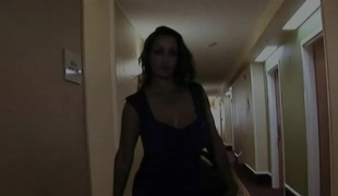 Next Door Mommies: Big breasted mom banged in hotel room