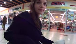 tsjekkisk amatør synspunkt tenåring offentlig
