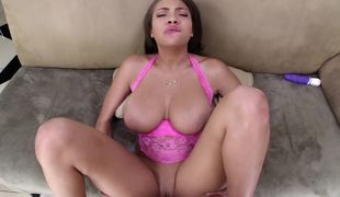 Cassidy Banks titjob is perfect foreplay before he fucks her
