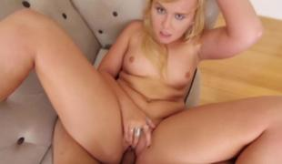 Melissa May caught on webcam by step bro