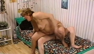 2 lustful older plumpers getting pounded hard by lewd young dudes