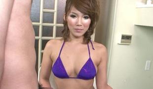 asiatisk bikini