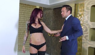 Milf underware babe gets the great hardcore fucking she merits